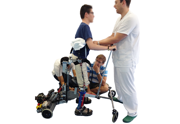 Robotic platform for the rehabilitation of children with Cerebral Palsy